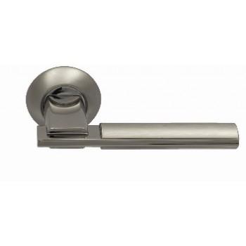 Ручка  SILLUR 94A S.CHROME/P.CHROME   матовый хром .хром