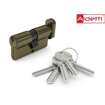 Купить цилиндр ALDETTI ключ-вертушка в бронзе