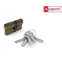Цилиндр ALDETTI ключ-ключ в бронзе