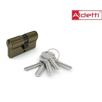 Купить цилиндр ALDETTI ключ-ключ в бронзе