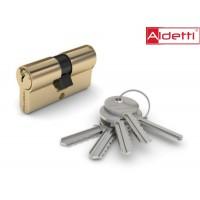 Цилиндр ALDETTI ключ-ключ в золоте