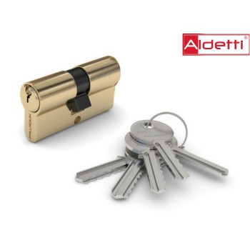 Купить цилиндр ALDETTI ключ-ключ в золоте