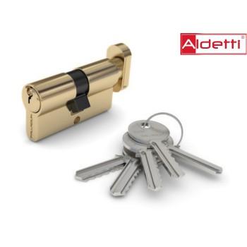 Купить цилиндр ALDETTI ключ-вертушка в золоте