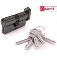 Цилиндр ALDETTI ключ-вертушка в хроме