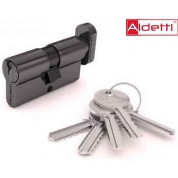 Купить цилиндр ALDETTI ключ-вертушка в хроме