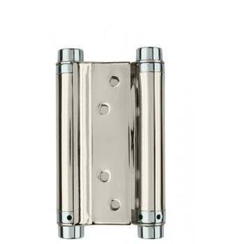 Петля износостойкая на дверь толщиной до 27 мм до 45 кг барная 100 мм цвет хром