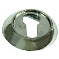 Накладки круглые на ключ. цилиндр ARCHIE SILLUR блестящий хром хром