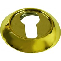 Накладки круглые на ключ. цилиндр ARCHIE SILLUR блестящий золото