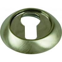Накладки круглые на ключ. цилиндр ARCHIE SILLUR матовый хром