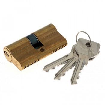 CISA 08310-07.54 GQ (30*30) цвет золото кл-ключ три ключа
