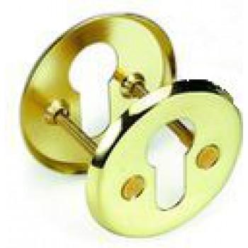 Накладка на ключевой цилиндр золото