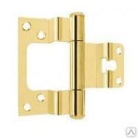 Петля ASTELLI ПНН 80х2,5 мм LAT  для дверей с притвором золото