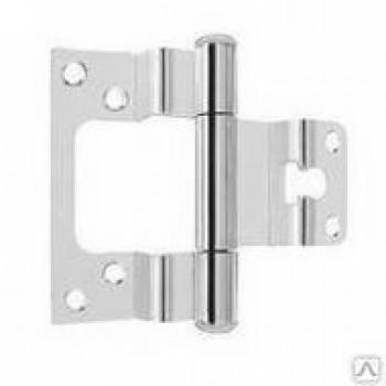 Купить петлю ASTELLI ПНН 80х2,5 мм CR  для дверей с притвором хром