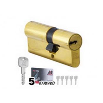 CISA OB 310.19.66 С5 CL(35х45) (цилиндр, RS3) цвет-золото, ключ-ключ, пять ключей