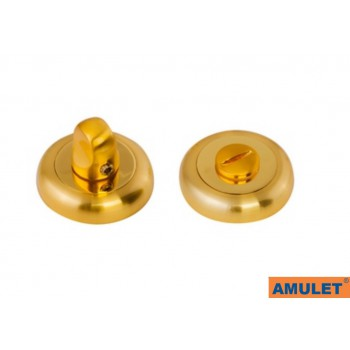 Завертка сантехническая матовое золото